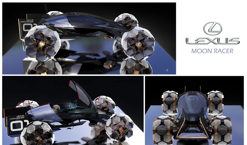 lexus crea prototipo de vehÍculo lunar