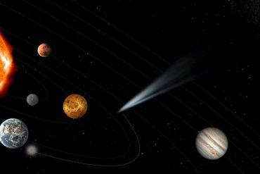 cometa prístino
