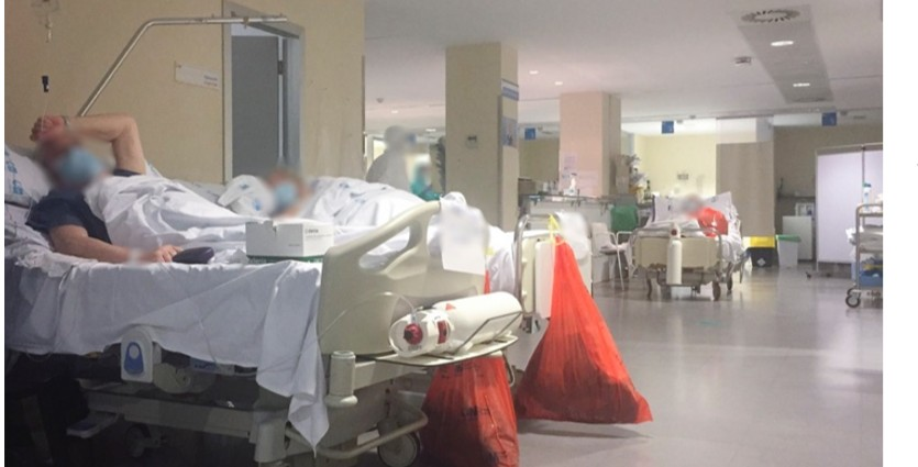 el confinamiento de una enfermera en los tiempos de la pandemia.