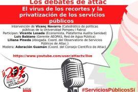 la privatización de los servicios públicos