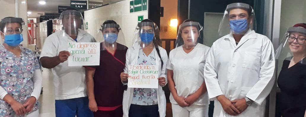ITESO, Suman esfuerzos para ayudar a hospitales