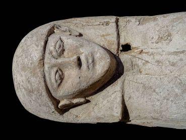 momia de una joven que vivió hace 3.600 años