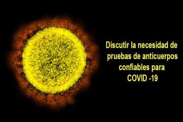 Covid-19 una conversación sobre anticuerpos