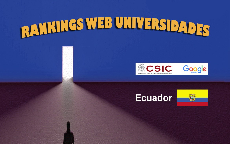 ranking web universidades 2020 : ecuador