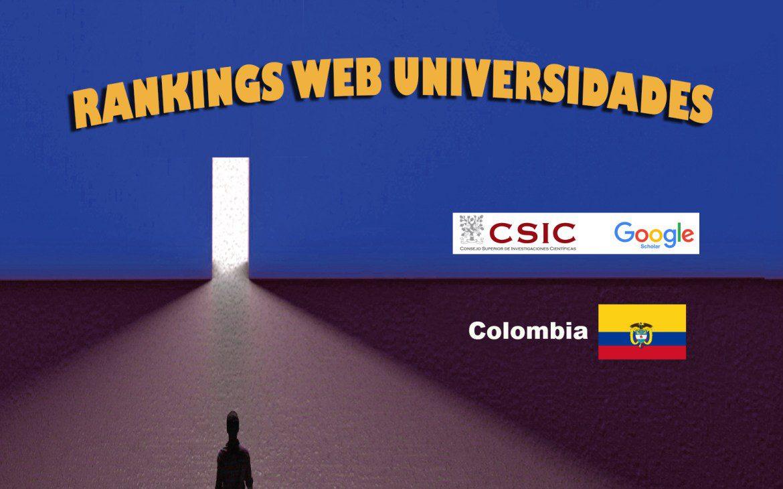 ranking web de universidades2020 : colombia