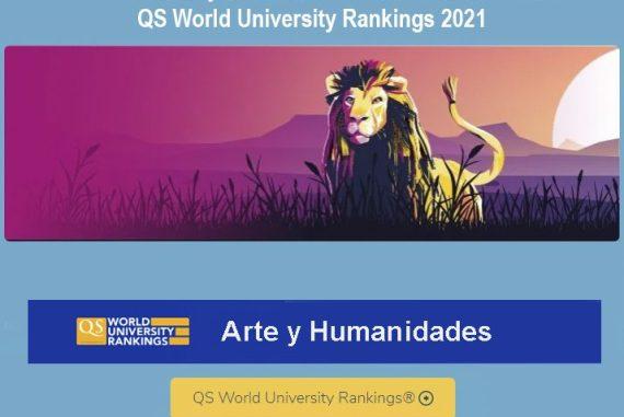 ranking qs, mejores universidades artes y humanidades