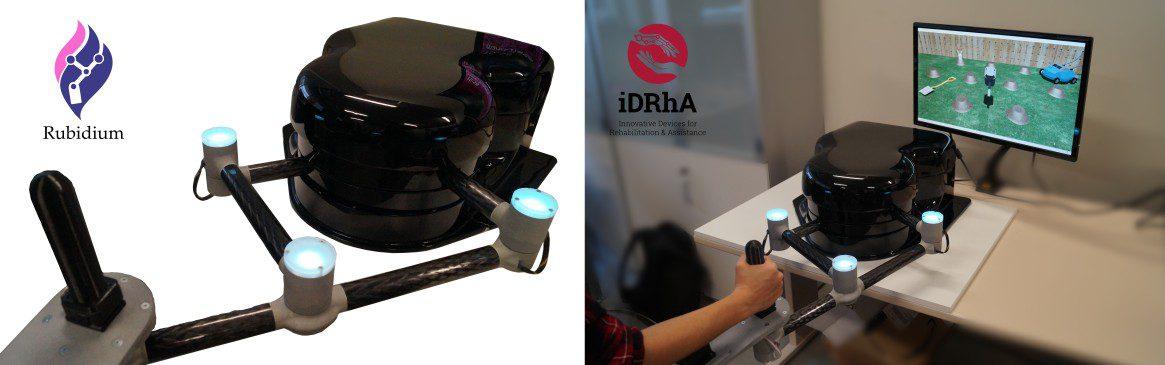 robot para que pacientes con daño cerebral hagan rehabilitación en casa