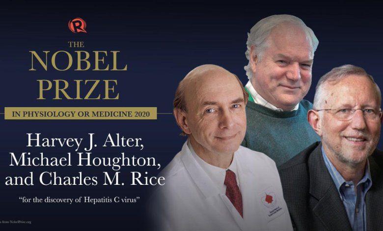 premio nobel de medicina de 2020