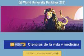 ranking qs, mejores universidades ciencias de la vida y medicina