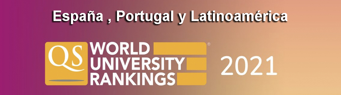 qs, ranking universidades , españa, portugal y latinoamérica