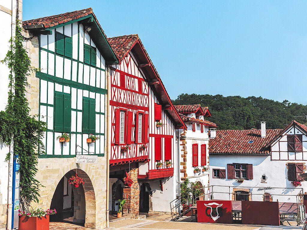 Pueblos del Pais Vasco frances