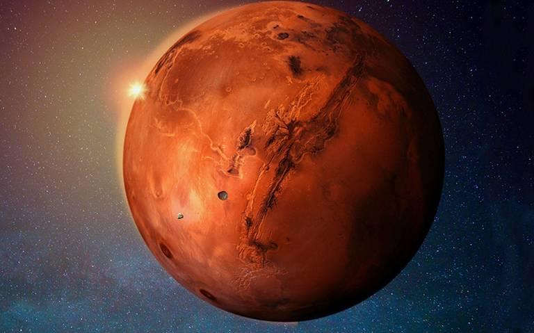 Revelada la estructura interna de Marte