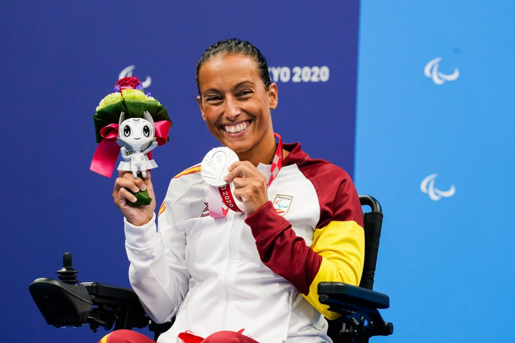 Teresa Perales 7 oros Olimpicos 10 platas olimpicas 10 bronces olimpicos