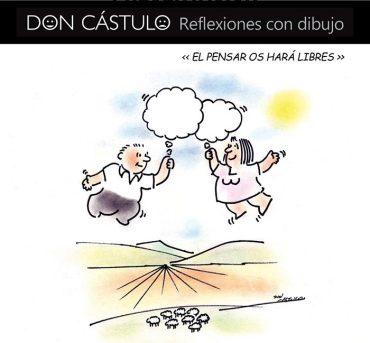 """d. castulo, presenta su libro """"el pensar os hará libres"""""""