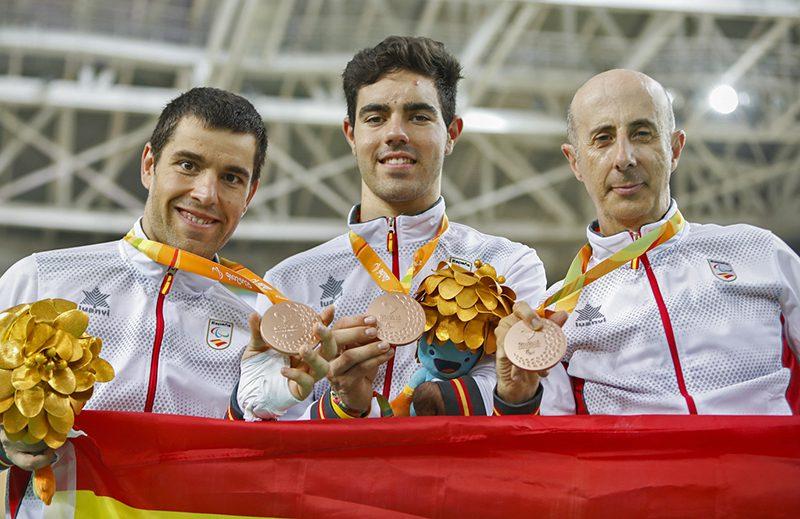 Ciclismo Team Trail 750m A. Cabello/A. Granado/E. Santas