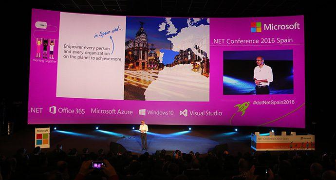 microsoft reúne a 6.700 desarrolladores en dotnet conference 2016, el mayor evento .net de españa