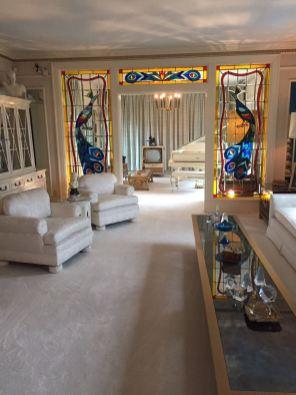 Detalhe do interior de Graceland.