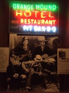 Memphis Rock'n'Soul Museum com destaque para Robert Johnson.