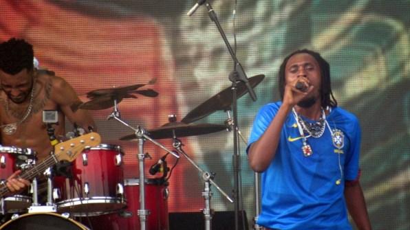 O rapper Rincon Sapiência.