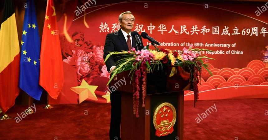 El embajador de China en la UE critica los ataques de Huawei