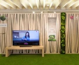 LG presenta sus soluciones eco para el hogar en Madrid Design Festival