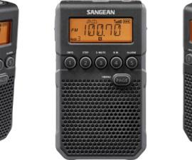 Sangean presenta Pocket 800, una radio de bolsillo versátil y deportiva