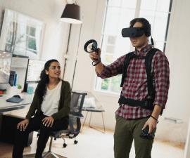 HP presenta un nuevo dispositivo de realidad virtual para entorno profesional