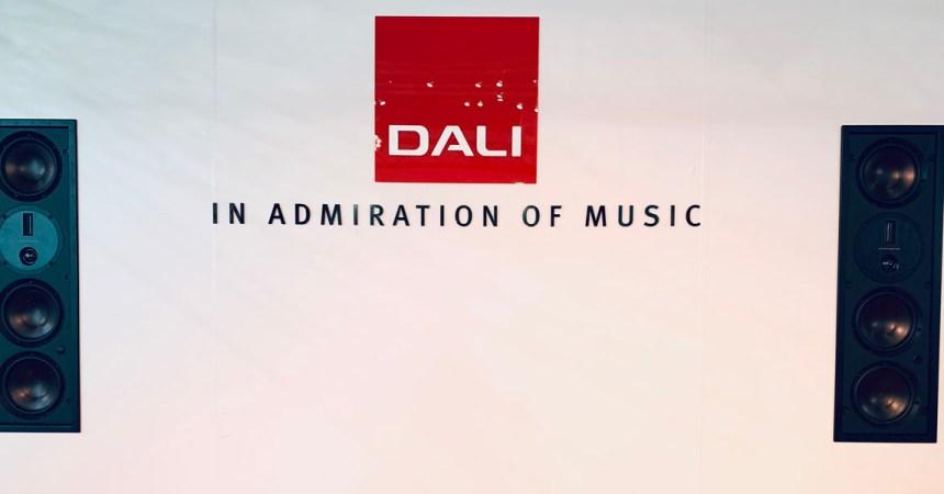 DALI lanzará tres nuevos altavoces empotrados