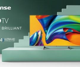 Hisense presenta su nueva gama de televisores apostando por la inteligencia artificial