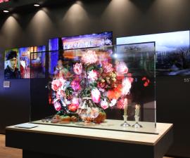 La nueva pantalla de LG es transparente