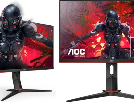 monitores gaming de AOC en Gamescon