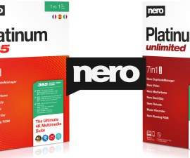 Editor de audio y video Nero Platinum