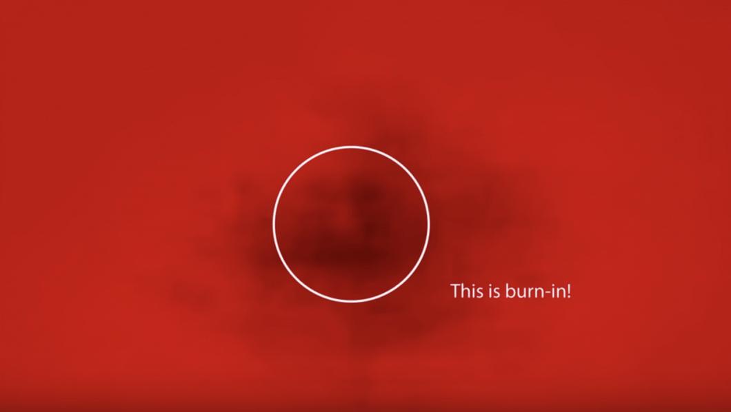 "detectar las zonas ""quemadas"" de tu pantalla OLED"