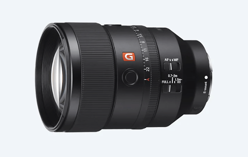 Sony FE 135 mm. F1.8 GM