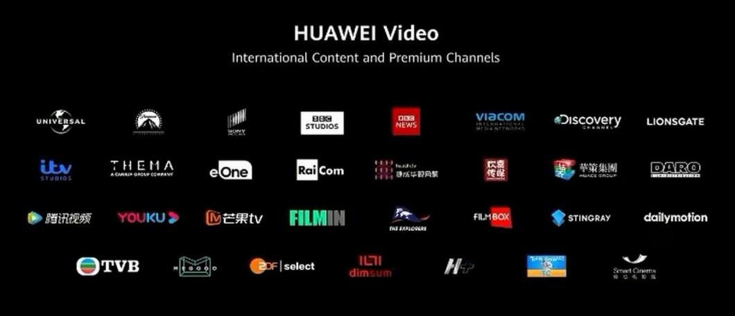Huawei Música y Huawei Video