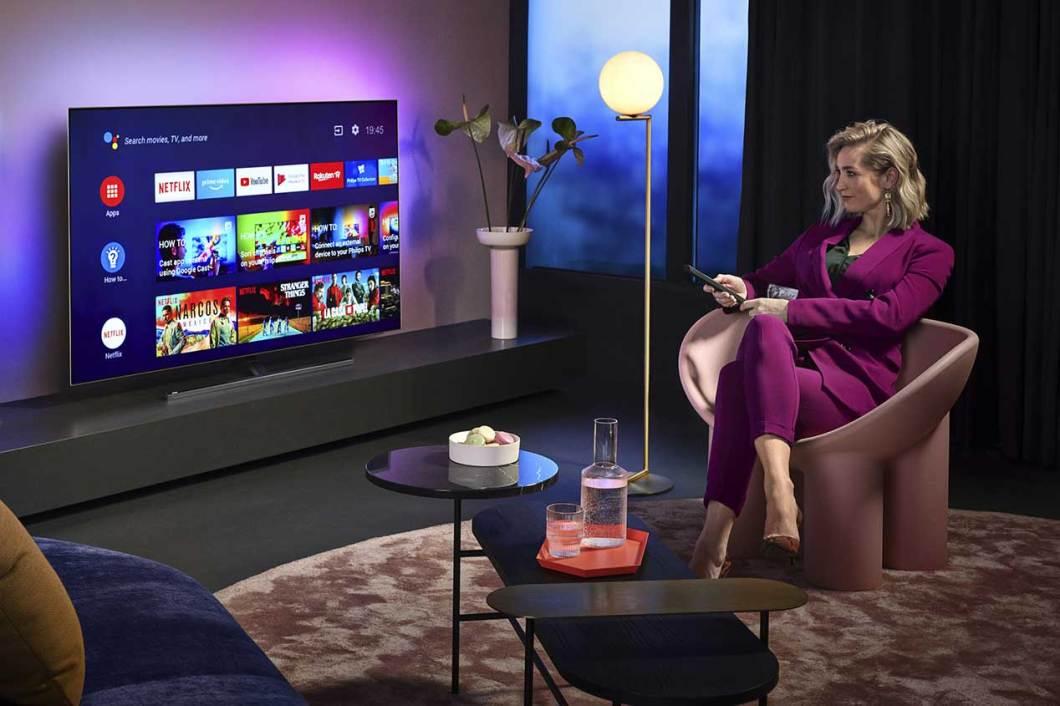 televisores OLED 800 de Philips