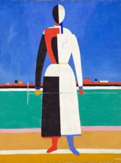 Mujer con rastrillo, c. 1932