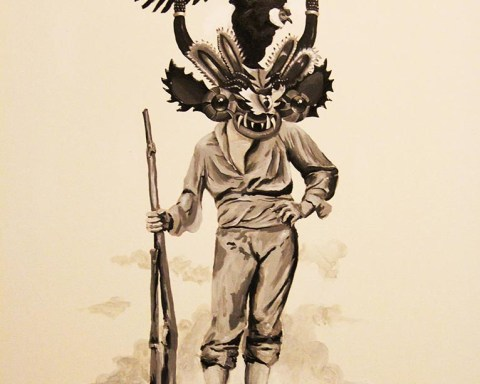 "De la serie ""Folklor Insurrecto"", Francisco Papas Fritas"