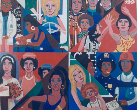 Faith Ringgold, For the Women's House, 1971