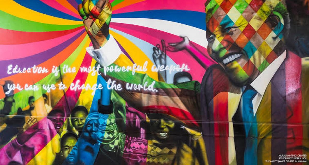 Conheça alguns dos mais incríveis murais de Kobra pelo mundo - Revista Prosa Verso e Arte