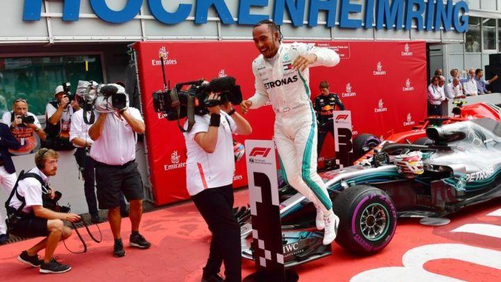 F1: Hamilton gana y recupera el liderato Mundial