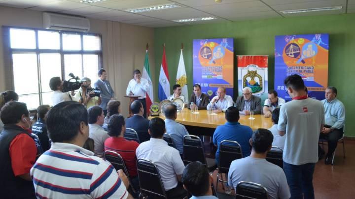 Itapúa será sede del Campeonato Sudamericano de Pádel