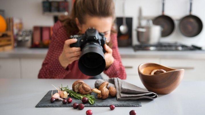 La imagen en la gastronomía y el Food Stylingtema de taller virtual