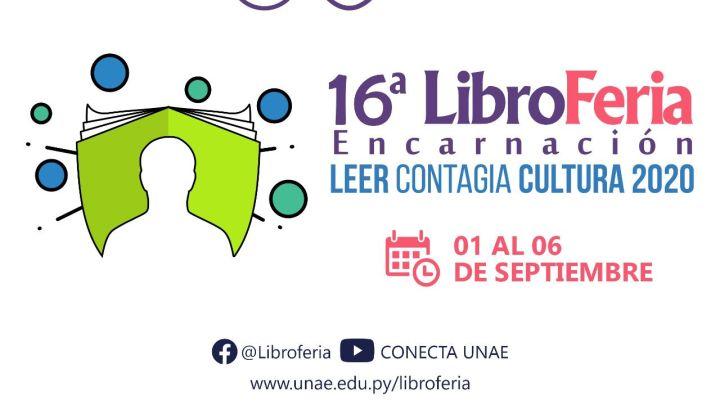 Del 1 al 6 de septiembre tendrá lugar la 16 LIBROFERIA ENCARNACIÓN