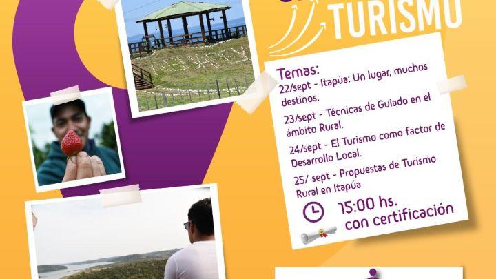Con charlas virtuales recordarán el Día Mundial del Turismo