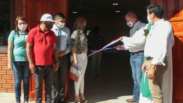 Municipio inaugura obras por valor de más de Gs. 500 millones en Cambyretá
