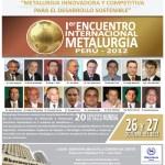 Primer Encuentro Internacional de Metalurgia
