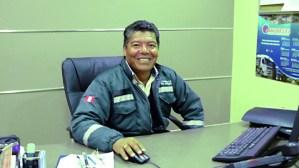 Ingeniero Marco Benites Gerente de la Unidad Pallancata y Selene