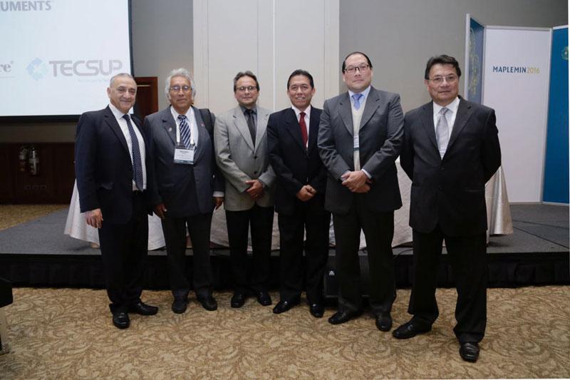 Comité ejecutivo del 3er Seminario Internacional de Mantenimiento de Plantas y Equipos Mina-Maplemin 2016