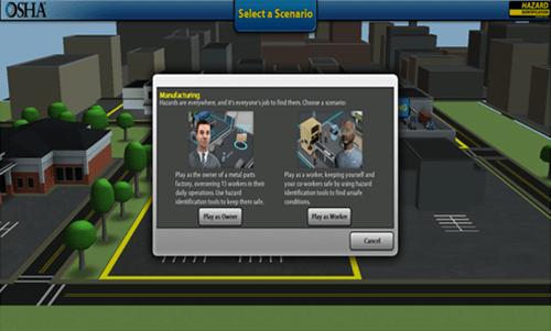 OSHA desarrolla herramienta virtual para capacitacion sobre peligros contenido 2